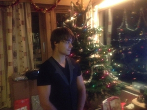You can tell by my face, that I don´t know what to do with all this happiness. Thank you, and #MerryChristmas