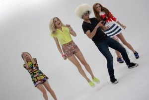 """Lapochka"" video shooting with Milki"