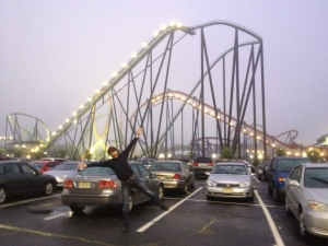 Six Flags New Jersey, wohooo!