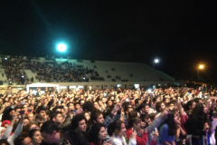 Lots of happy students attended my concert in Mersin