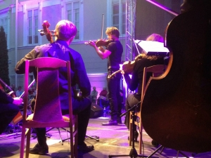I played with an amazing orchestra in Vilnius yesterday.