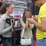 Alexander Rybak at signing session in Gothenburg