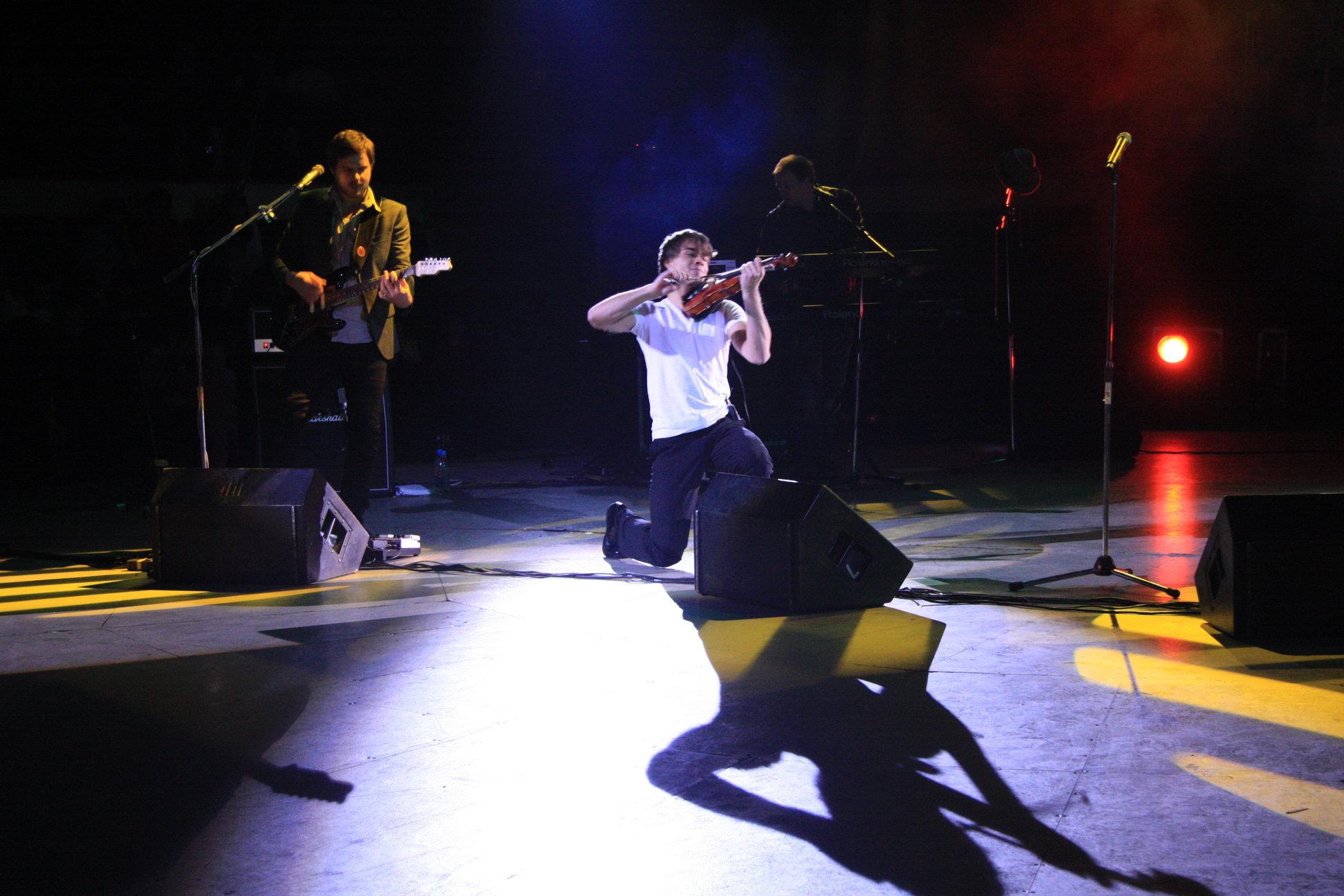 Performing at circus in Samara, Russia!
