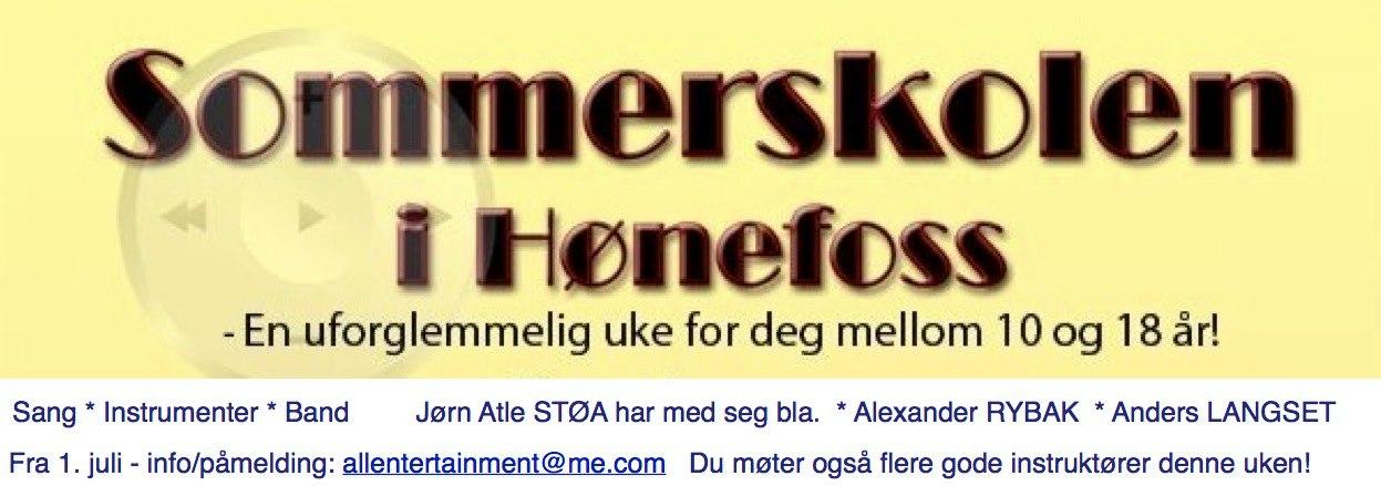 Norway : Summer school in Hønefoss