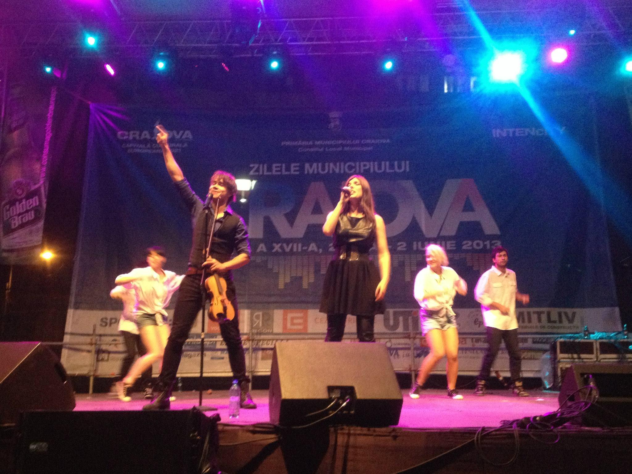 Photos. Concert in Craiova, Romania