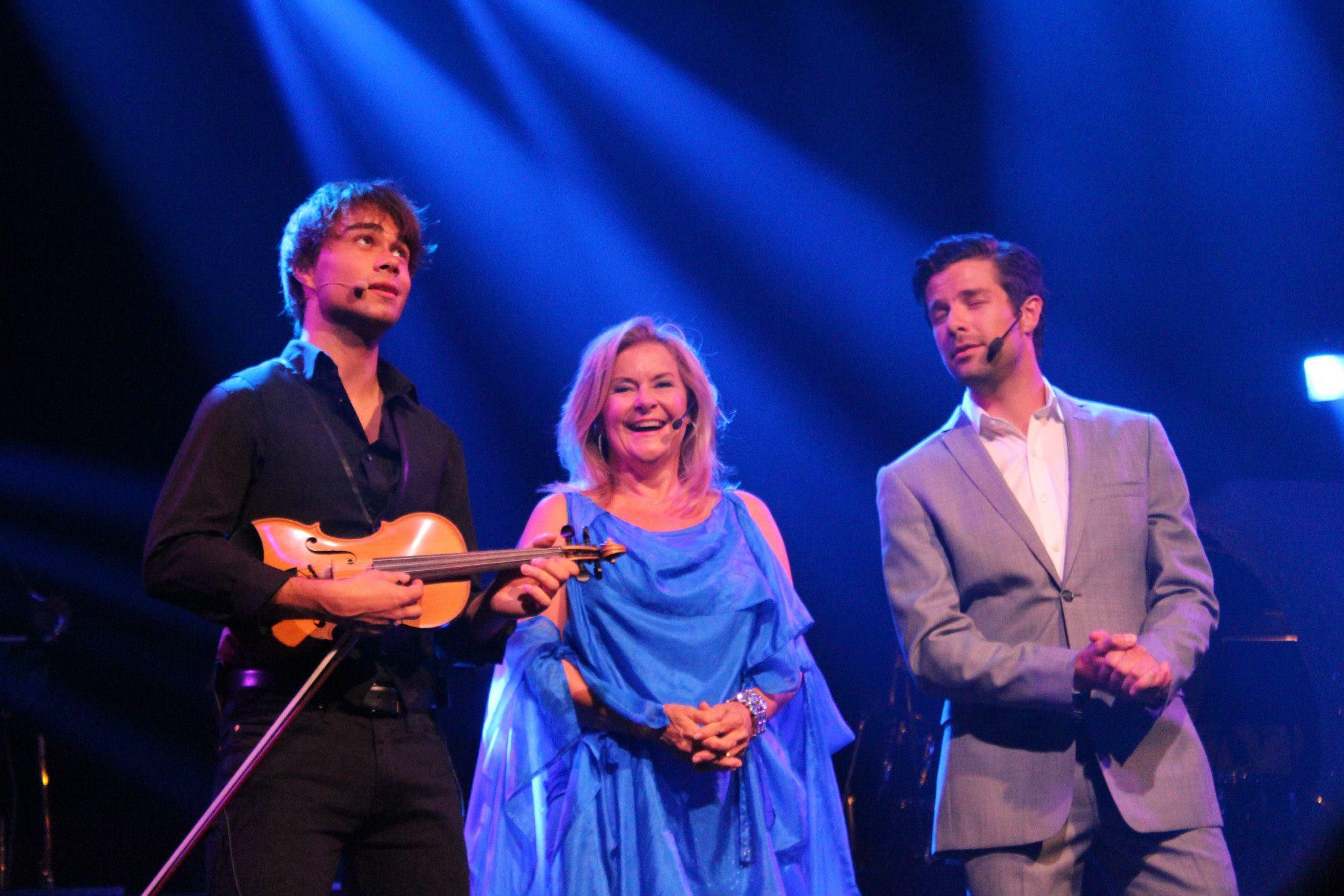 Summer Show 2013, Tønsberg, Norway: Bettan, Alexander and Didrik