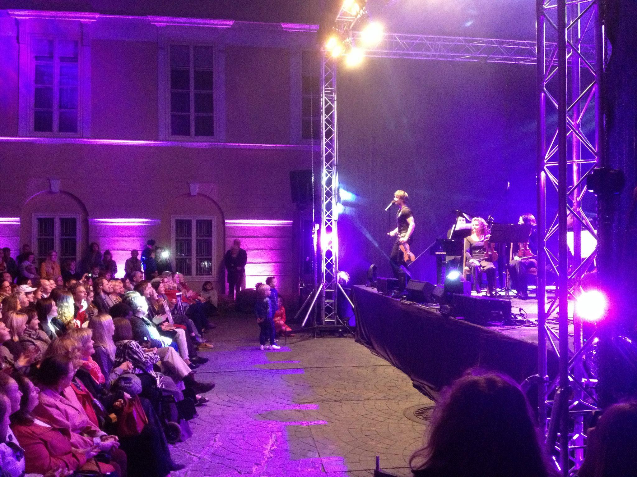 Cross-over Concert in Vilnius, Lithuania