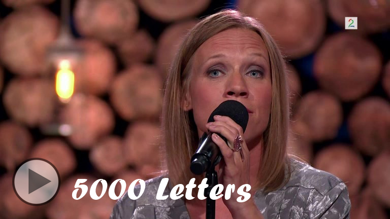 5000 Letters Cover