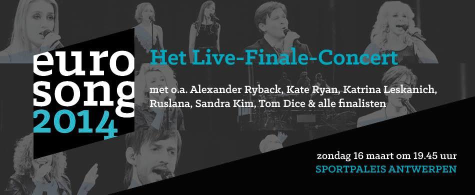 "Alexander is guest-performer at ""Eurosong 2014"" in Belgium"