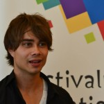 Alexander Rybak: Press-conference in Iasi, Romania