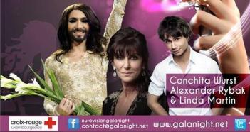 Alexander will perform at Eurovision Gala Night 2014 in Luxembourg