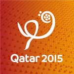 "ESC stars take part in ""Live it ( Official anthem )"" for Qatar 2015"