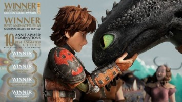 """DreamWorks Makes History; """"How to Train Your Dragon 2"""", Wins the Golden Globe!"""
