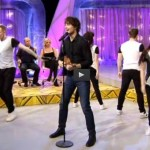 "Alexander performed in the Lithuanian TV-show ""KK2 Penktadienis"""