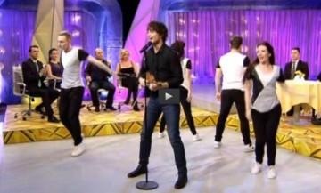 "Alexander performed in the Lithuanian TV-show ""KK2 Penktadienis"""