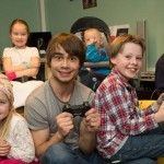 Alexander Rybak feels, children deserve joy! Gave away his home-cinema.