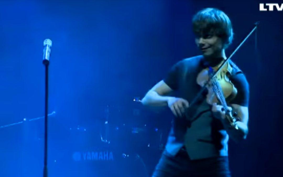 "Latvia: Alexander performed at ""Eurovision Preparty 2015"" in Riga"
