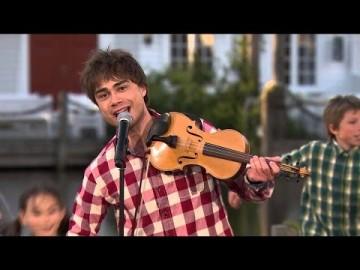 "Alexander Rybak: ""Blant Fjell"" – First live TV-performance"