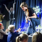 Brought the Magic Fiddle to Litteraturhuset in Fredrikstad