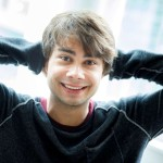 Alexander Rybak with Troll for the smallest