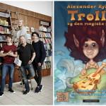 Press-release : Alexander Rybak's book to Denmark