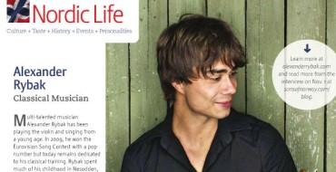 Interview: Alexander Rybak – Classical Musician