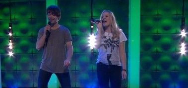 """First TV-performance of """"Venner"""" from """"Trolle og den Magiske Fela"""""""