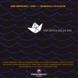 """Charity: Alexander takes part in a song for refugees: """"Når Båten Seiler Inn"""""""