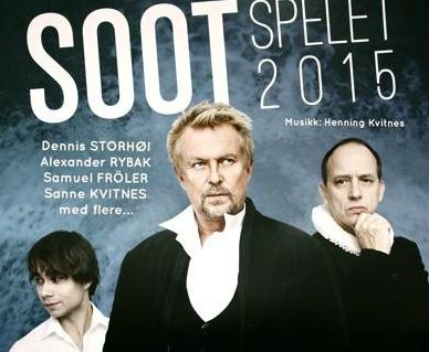 Soot Spelet 2015: The Music from the play is released on iTunes and Klicktrack