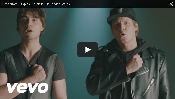 "New Music-Video: ""Typisk Norsk"" by Katastrofe, featuring Alexander Rybak"