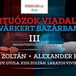 "Budapest, Hungary: Alexander Rybak will perform on February 27th in ""Virtuózok Viadala"""