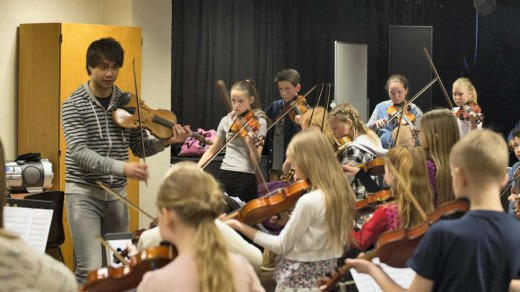 """Smp.no: """"Rybak-weekend for young violinists"""""""