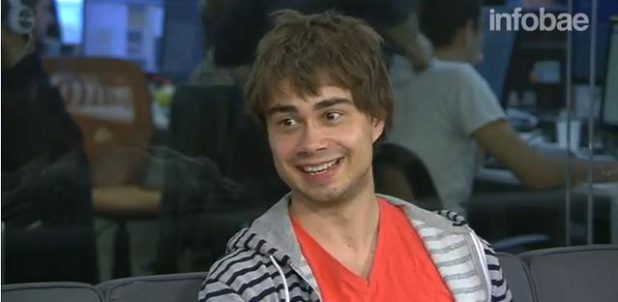 Press: Video-Interview with Alexander Rybak in Argentina – With Spanish subtitles