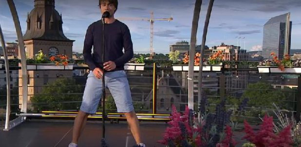 "Video: ""Alexander Rybak – head over heels in love – sings ""I Came to Love you"""