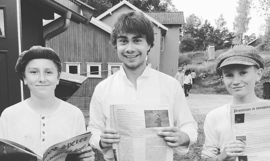 """Radio-Interview. Alexander on NRK P4 """"Michael Direkte"""" 22/6"""