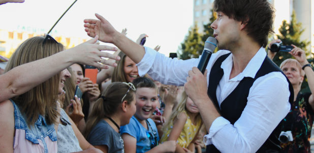 "Photos + Videos: Concert in Soligorsk, Belarus – Alexander and ""Milki"""
