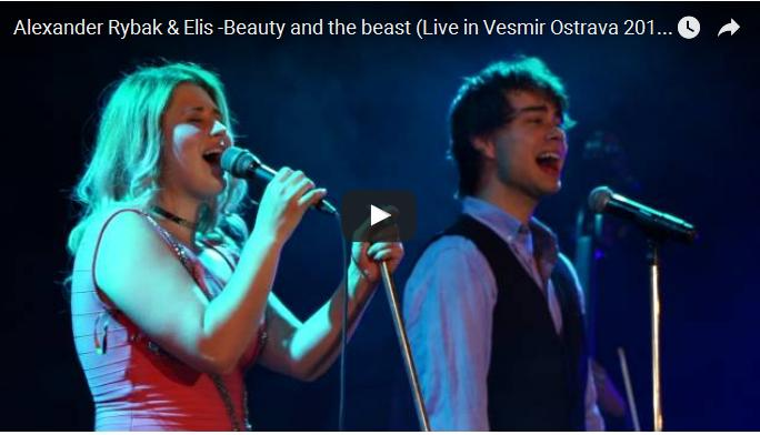 "Alexander Rybak & Elis Mraz: ""Tale as old as Time"" – Beauty and the Beast"