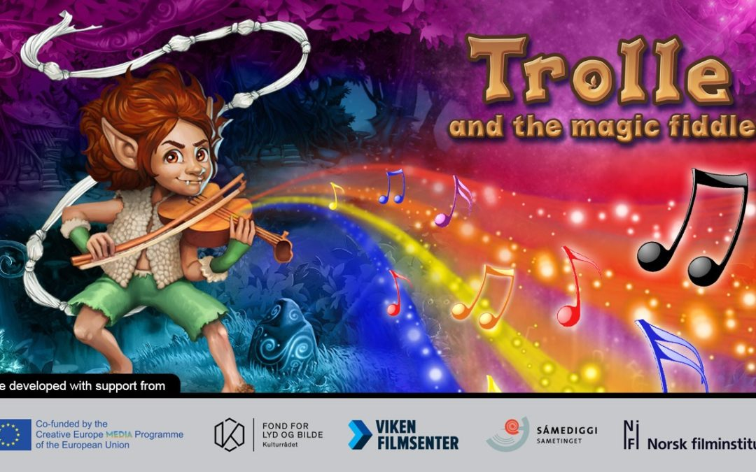 """Alexanders' book """"Trolle og den Magiske Fela"""" will become a computer-game"""