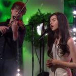 "Angelina Jordan and Alexander Rybak: ""White Christmas"""
