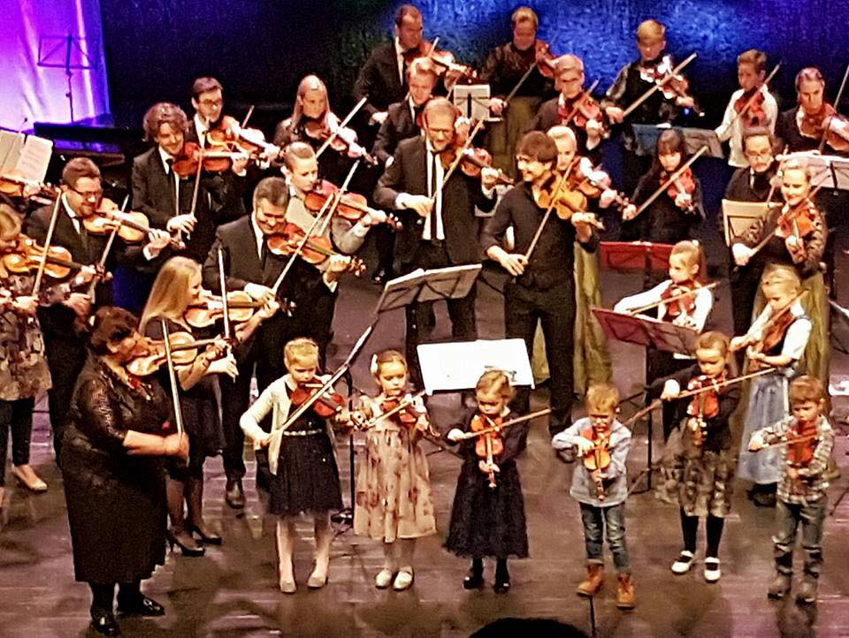 Photos & Videos – Alexander Rybak in New-Year Concerts with Trondheimsolistene & young talents