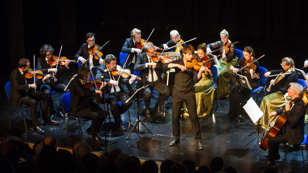 Article: Sparkling concert with Trondheimsolistene