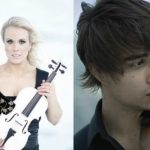 Greta Salóme and Alexander Rybak collaborate in a singing-violin performance show in Iceland