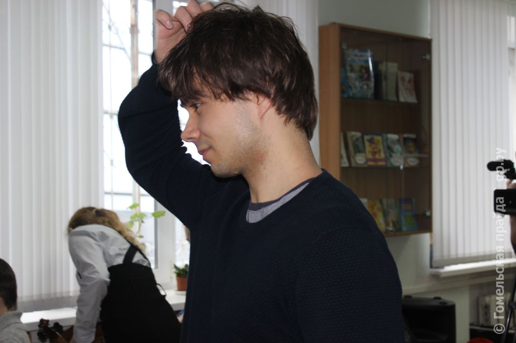 Alexander Rybak: Masterclass and Concert in Gomel, Belarus