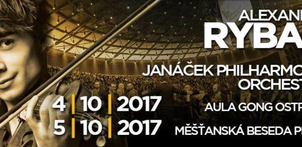 Concerts in the Czech republic with Alexander Rybak & The Janáček Philharmonic Orchestra