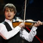 Alexander Rybak performs with the Janáček Philharmonic in Pilsen, Czech rep.