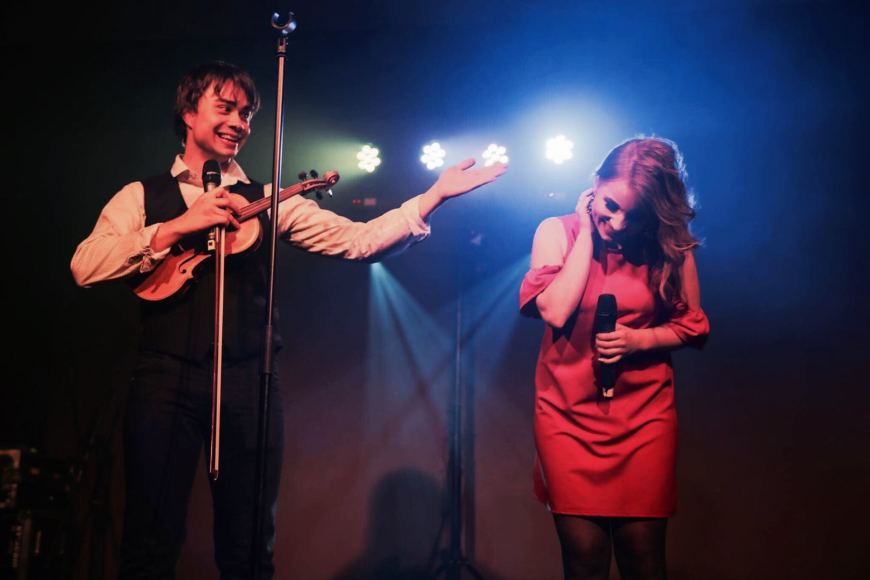 Lithuania: Appeared on the stage with Alexander Rybak