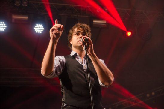 Alexander Rybak performed in Estonia at Midsummer-Festival