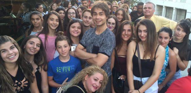 Athens, Greece: Meet & Greet with fans of Alexander Rybak. 19.08.2017