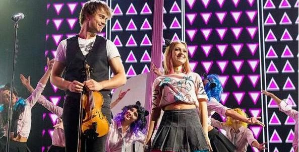 "Video/Photos: Alexander Rybak was guest in the TV-show ""Новая Фабрика звезд"" (""New Star Factory"")"