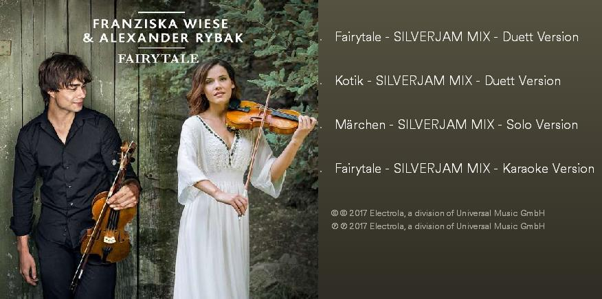 "New ""Fairytale""- EP by Franziska Wiese & Alexander Rybak – on physical and digital platforms."